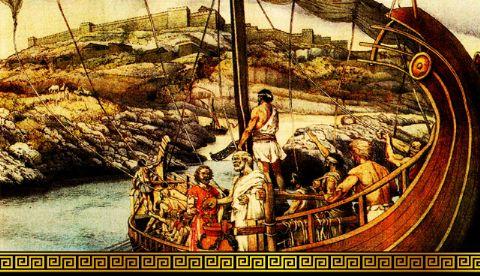 iCicero: Terracina -  Il Mito di Ulisse