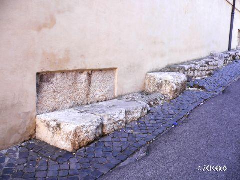 iCicero: Terracina - Basilica Forense