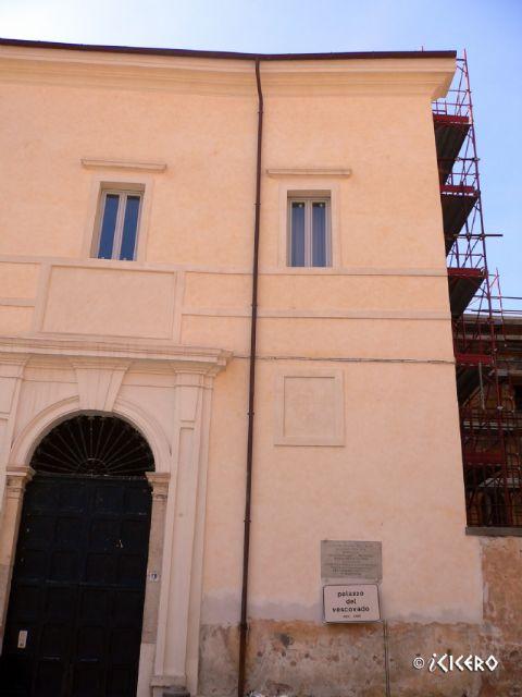 iCicero: Terracina - Palazzo del Vescovado