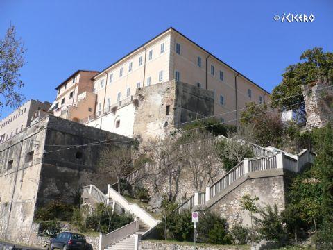 iCicero: Terracina -  Palazzo della Bonificazione Pontina