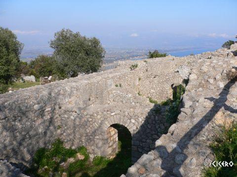 iCicero: Terracina - Campo trincerato e cisterne