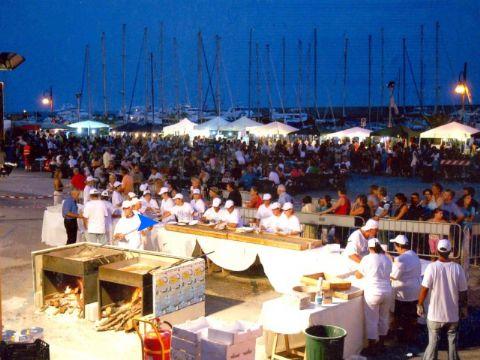 iCicero: San Felice Circeo - Feste e Sagre - Festa del pesce azzurro